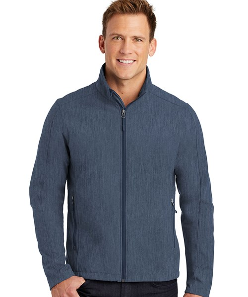 #J317 Core Soft Shell Jacket custom embroidered or printed with your logo.