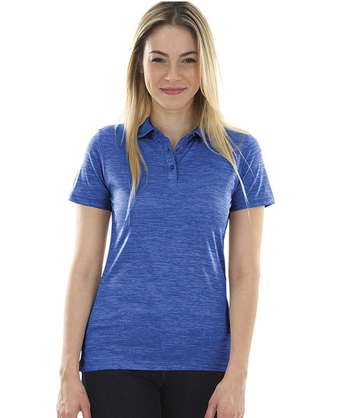 7b2e3d4119c1 2814 Women s Space Dye Polo custom embroidered or printed with your ...