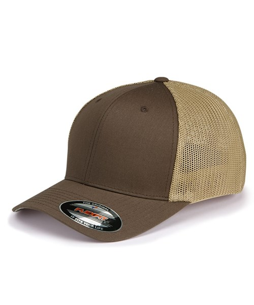 9c5e317300f60  6511 Trucker Cap custom embroidered or printed with your logo.