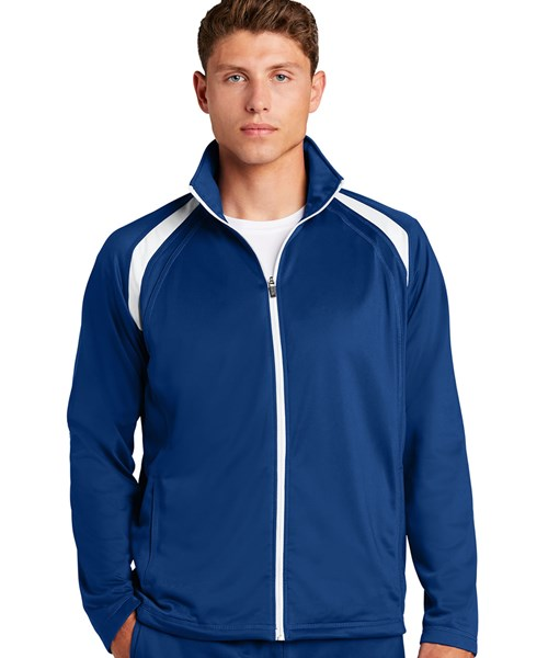#JST90 Tricot Track Jacket custom embroidered or printed with your logo.