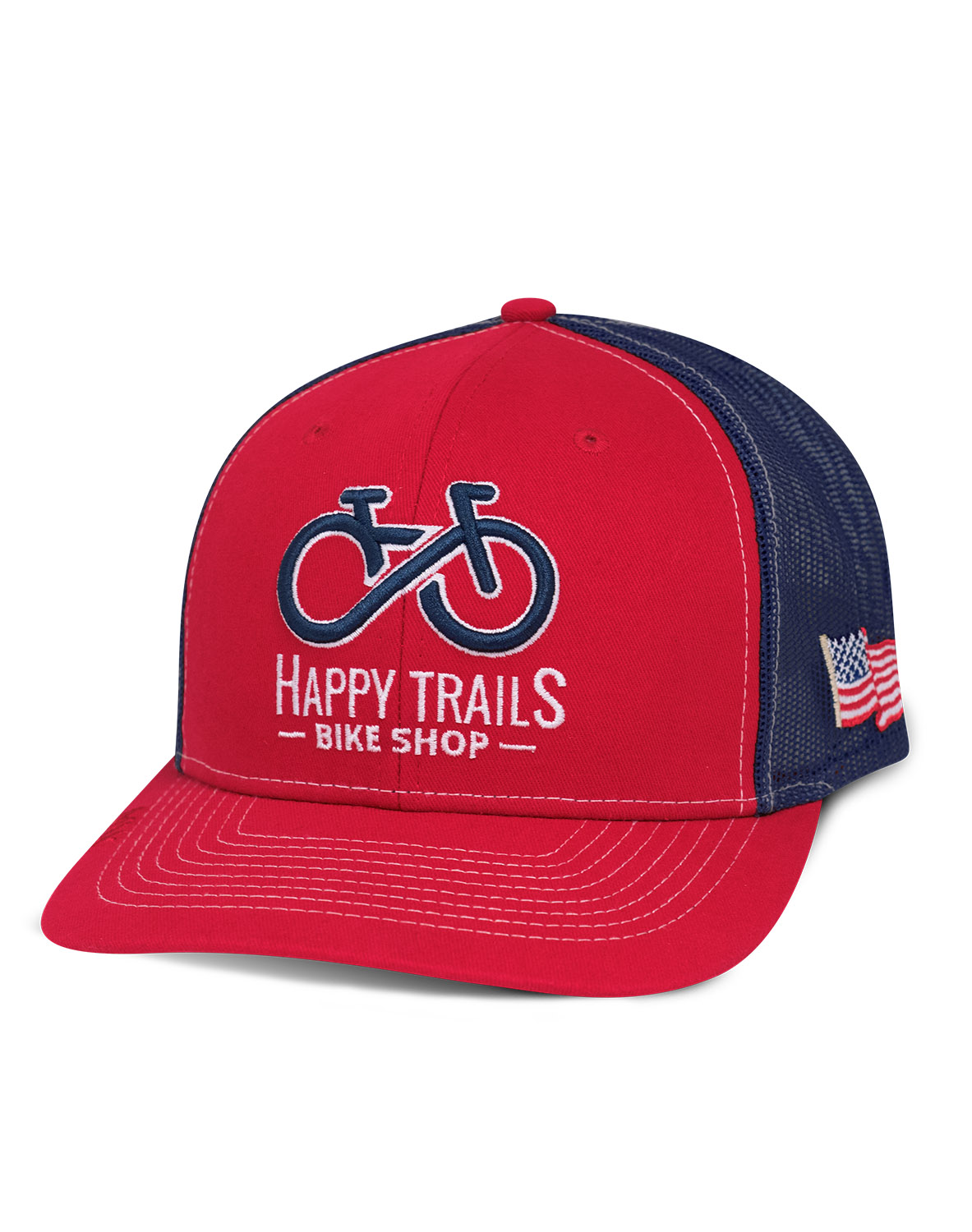 fb1cc0fa3 MX211 Trucker Snapback Hat custom embroidered or printed with your logo.