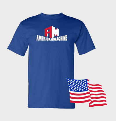 USA Made Shop Embroiderd or Screen printed with your logo.