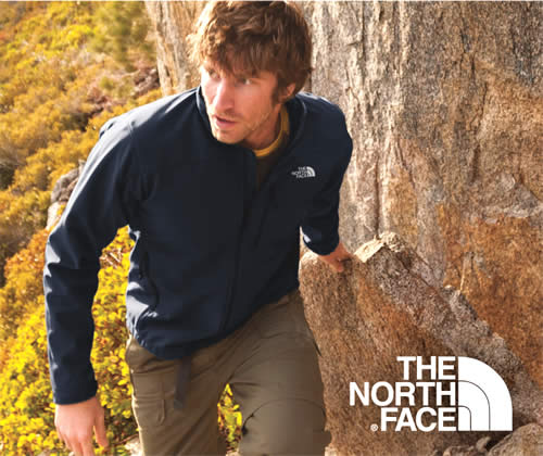 The North Face Embroiderd or Screen printed with your logo.