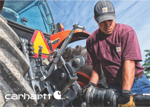 Carhartt Embroiderd or Screen printed with your logo.