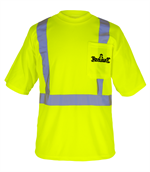 Hi-Viz apparel custom logo embroidery and screen printing