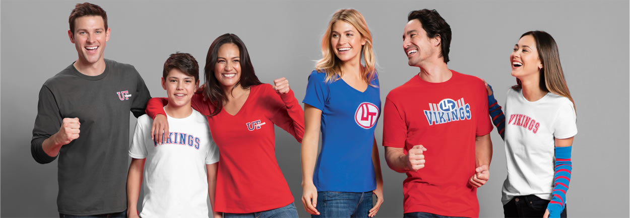 custom tees embroided or screen printed with your logo