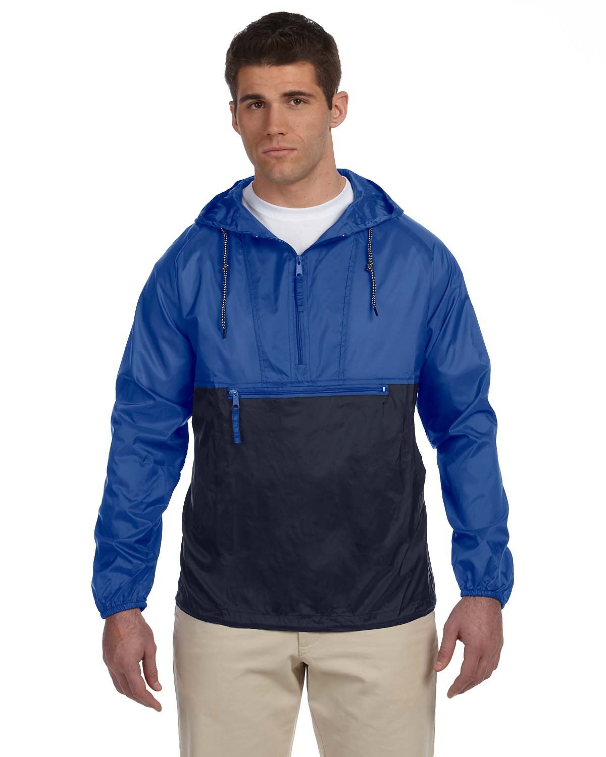 Packable nylon jackets