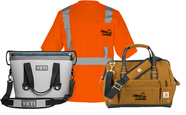 custom embroidery and screen printed safety vests