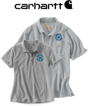 custom embroided carhartt polo shirts