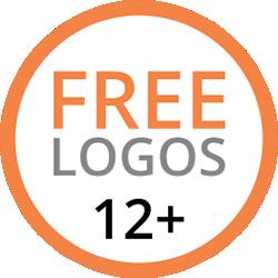 free logos 12+
