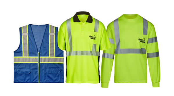 custom embroidery and screen printed Safety Apparel