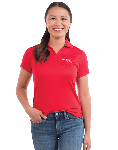 70f29f6999ffc TM96252 Women s Moreno Short Sleeve Polo custom embroidered or ...