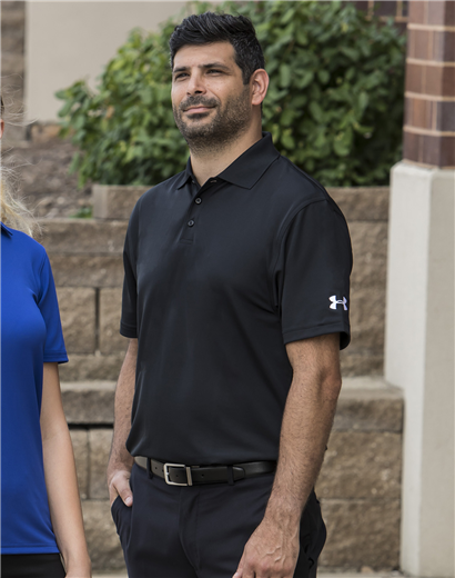 2d217e0f Mens Under Amour Corp Performance Polo | Triple Crown Products