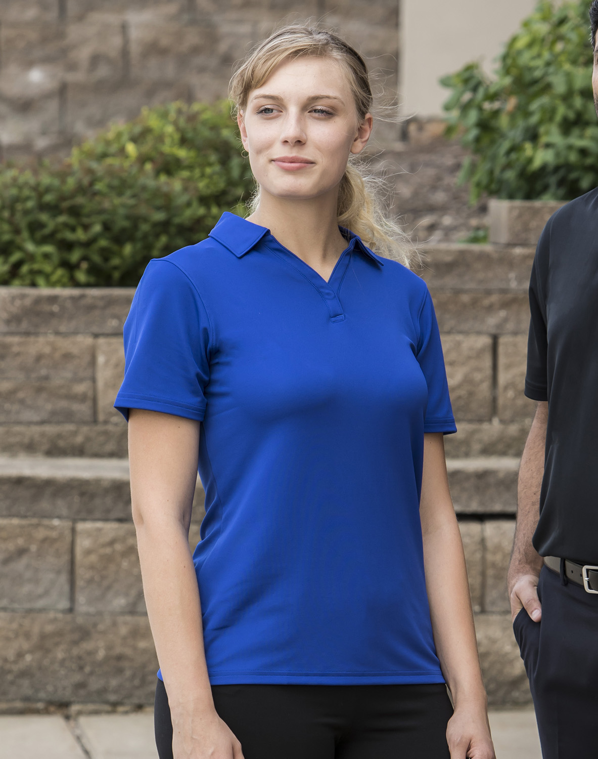 f967072467a6 1261606 Ladies  Corp Performance Polo custom embroidered or printed ...