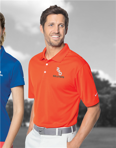 0976dc63 363807 Dri-Fit Micro Pique Polo custom embroidered or printed with ...