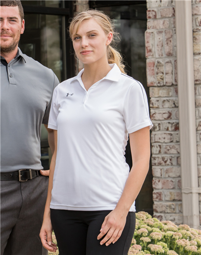 f37acfc4 Ladies Under Armour Tech Polo | Triple Crown Products