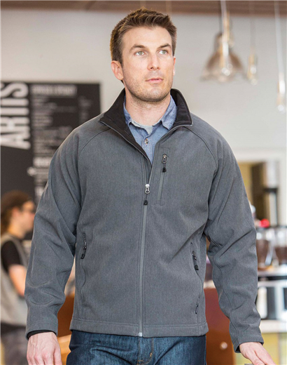 9901 Matrix Soft Shell Bonded Jacket custom embroidered or printed with  your logo. f837a3383c